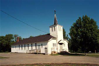 St Benedict Parish in White Earth, MN